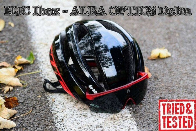 HJC Ibex e ALBA OPTICS Delta
