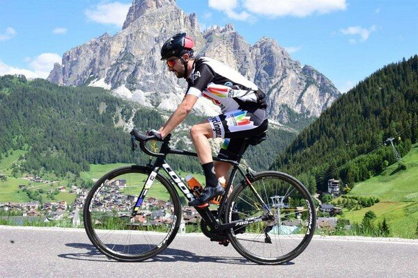 LOOK 785 Huez RS - Dolomites Bike Day